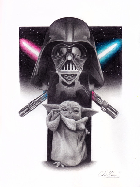 Darth Vader vs. Baby Yoda