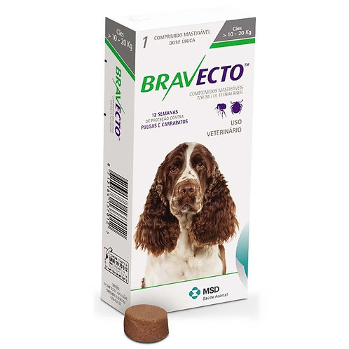 Bravecto for dogs 10 - 20kg