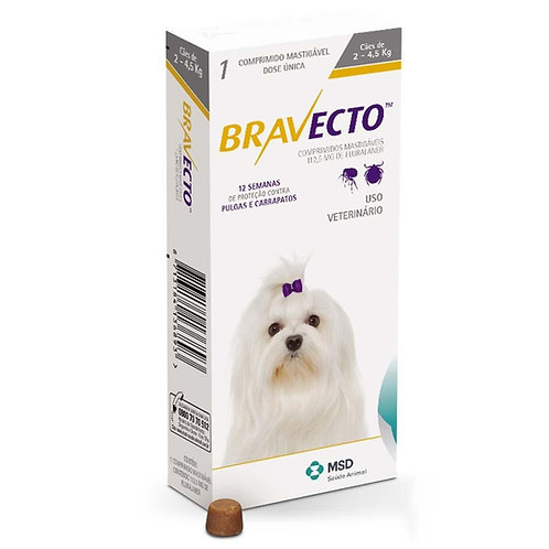 Bravecto for dogs 2 - 4.5kg