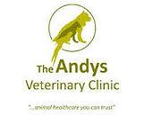 The Andys Veterinary Clinic Logo and slogan