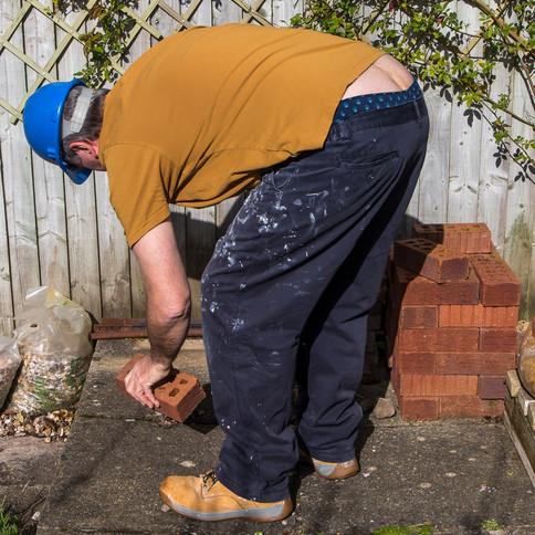 Builder's bum.. crack a smile !