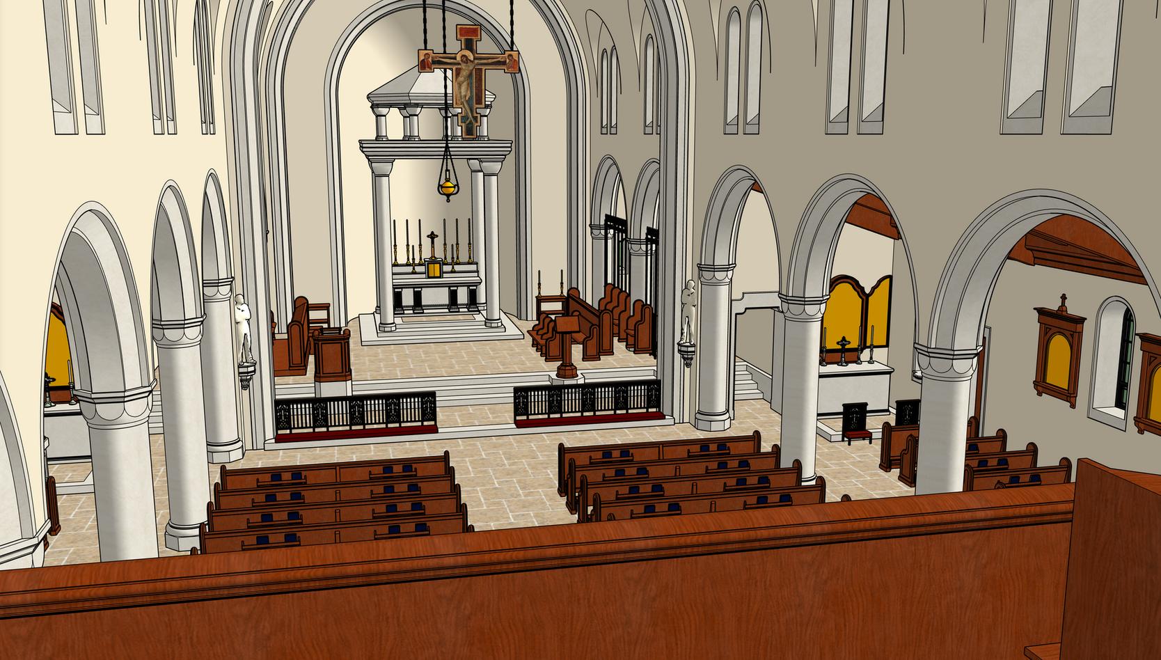 17 Left Choir Loft View
