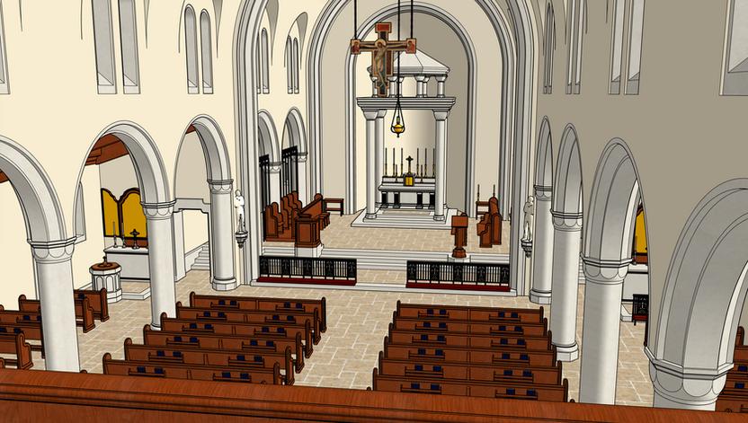 11 Choir Loft Right View