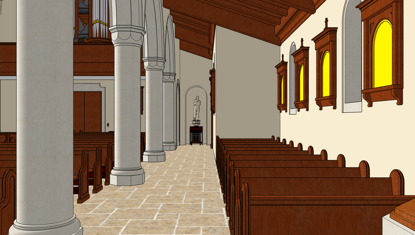 14 Front Chapel View