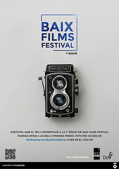 BAIX FILMS FESTIVAL - CARTEL - CAT - LOG