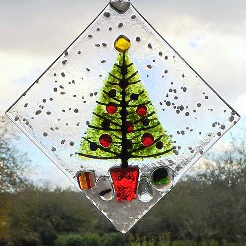 Large Christmas Tree Suncatcher