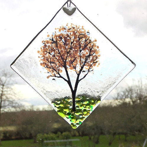 Mini Cherry Blossom Tree Suncatcher