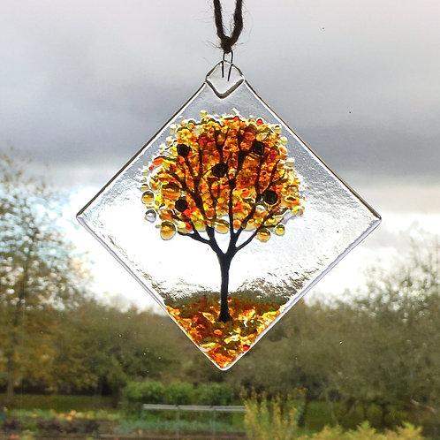 Mini Autumn Tree Suncatcher