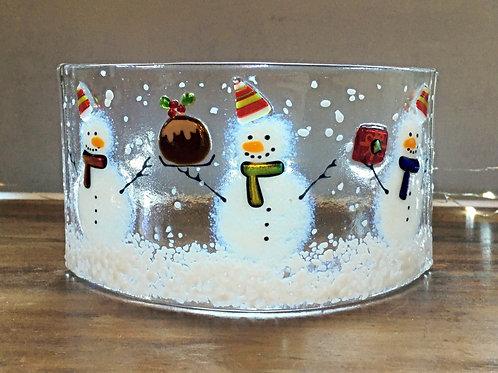 Snowman Christmas Party Curve