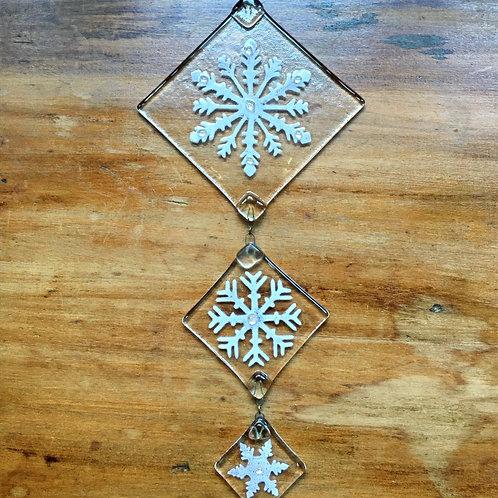 Snowflake Chain Suncatcher