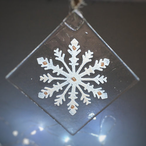 Snowflake Suncatcher