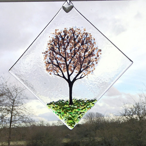 Large Cherry Blossom Tree Suncatcher