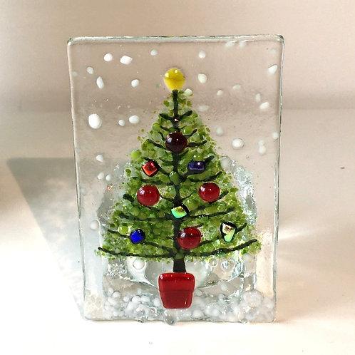 Mini Christmas Tree Tealight Holder