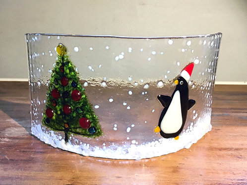 Penguin and Christmas Tree Curve