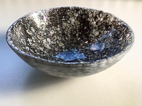 Large Round Moon Rock Dish