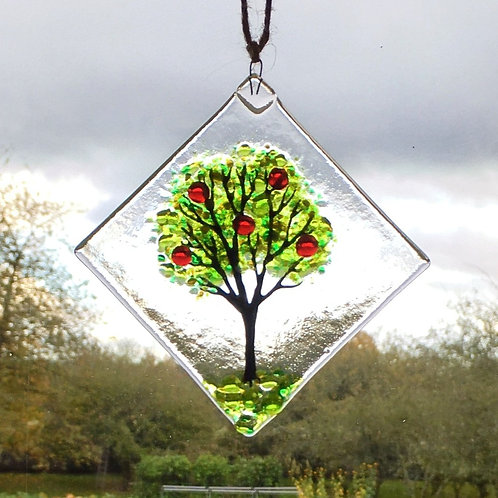 Mini Apple Tree Suncatcher