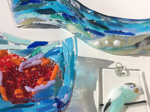 Gift Voucher - Glass Fusing Taster Session 2.5 hours