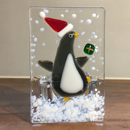 Penguin Tealight Holder