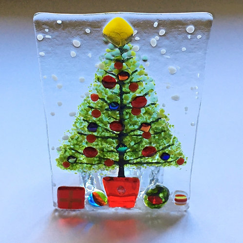 Large Christmas Tree Tealight Holder