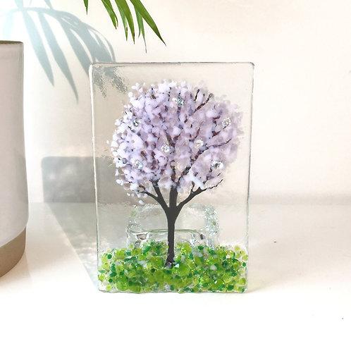 Large Cherry Blossom Tree Tealight Holder