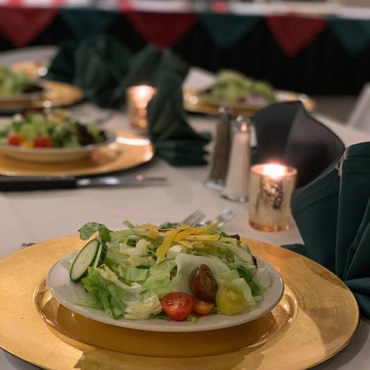 Pre-Set Salad