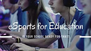 พร้อมรับมือ esports เพื่อประโยชน์ต่อโรงรียนและการศึกษาหรือยัง
