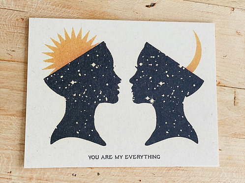 Your Are My Everything Card