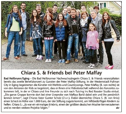 Chiara S. & Friends bei Peter Maffay