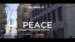 The Sense of Peace, with Peace Insight - Kyiv Street Art