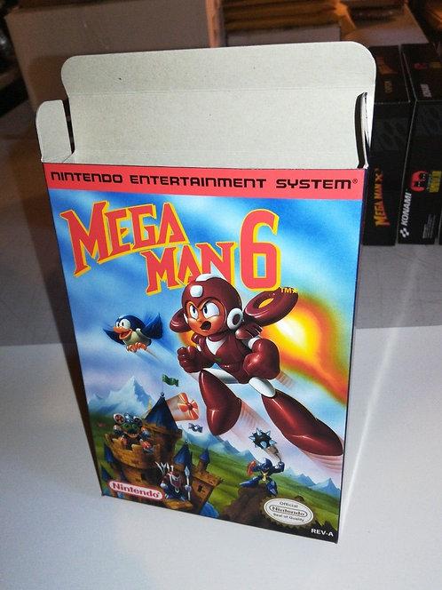 Mega Man 6 Box
