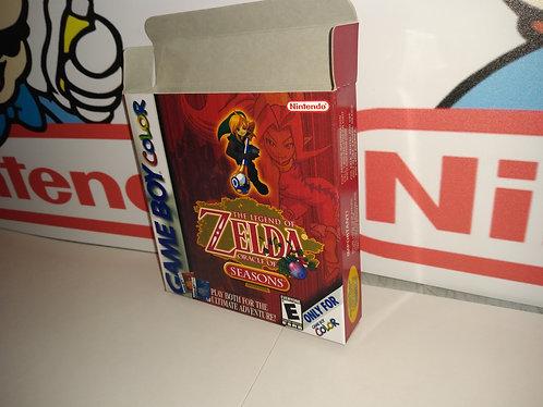 The Legend of Zelda: Oracle of Seasons Box