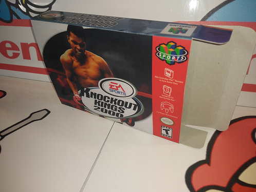 Knockout Kings 2000 Box