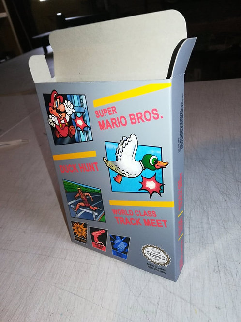 Super Mario Bros. Duck Hunt World Class Track Meet Box