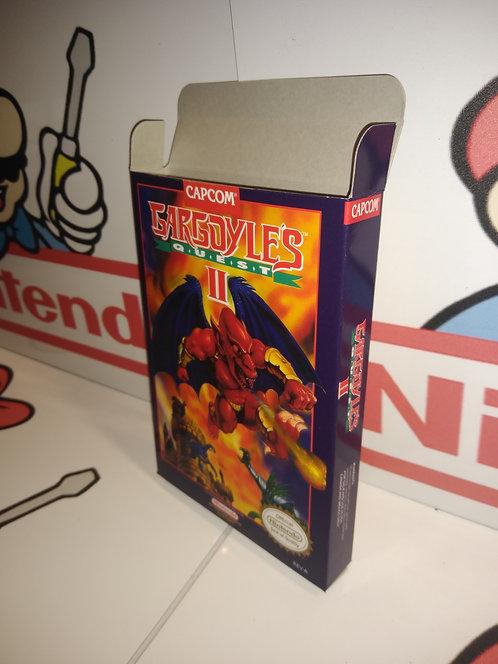 Gargoyle's Quest II Box