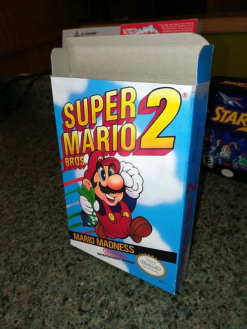 Super Mario Bros. 2 Box