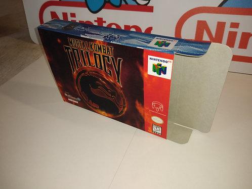 Mortal Kombat Trilogy Box