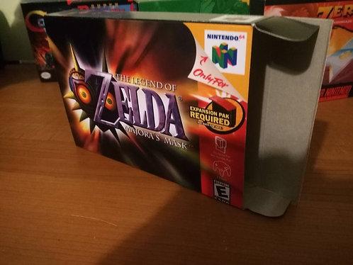 The Legend of Zelda: Majora's Mask Box