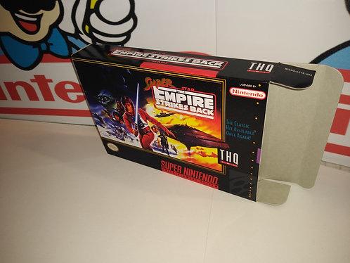 Super Empire Strikes Back Box