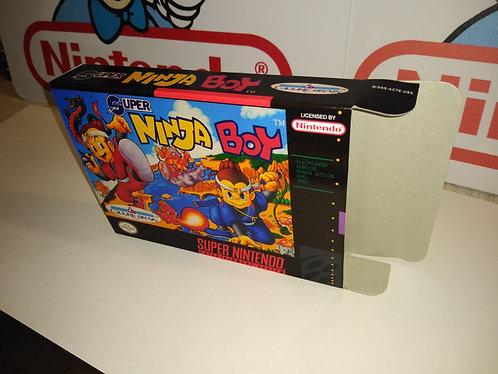 Super Ninja Boy Box