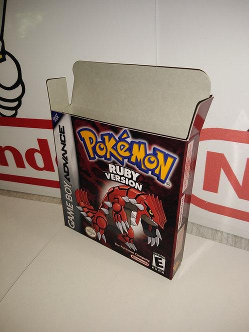 Pokemon Ruby Box