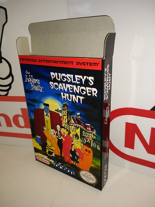 The Addams Family: Pugsley's Scavenger Hunt Box