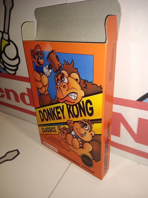 Donkey Kong Classics Box