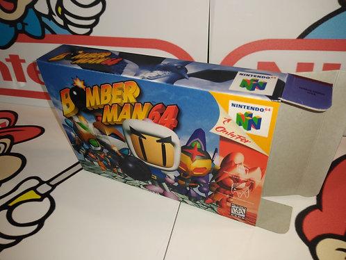 Bomberman 64 Box