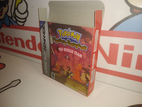 Pokemon Mystery Dungeon: Red Rescue Team Box