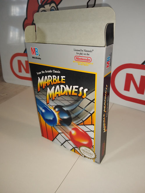 Marble Madness Box