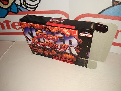 Super Street Fighter II Box