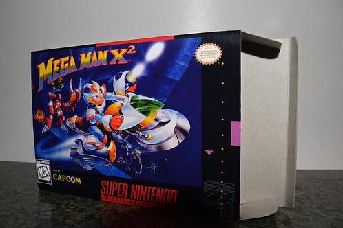 Mega Man X2 Box