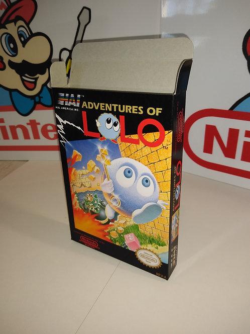 Adventures of Lolo Box