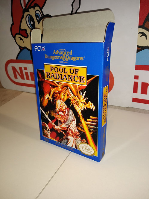 Advanced Dungeons & Dragons Pool of Radiance Box