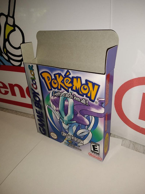 Pokemon Crystal Box